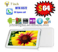 tablets pc phone hdmi gps 3g prime digital hot sell 512M/4G sim card slot android tablet pc
