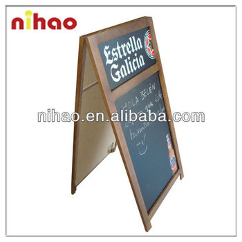 OUTDOOR BLACKBOARD;A-BLACKBOARD;WRITING BLACKBOARD