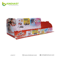 Manufactured POS Chocolate Retail Cardboard counter Display unit