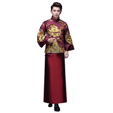 Grosir Top Kualitas Mens Slim Setelan gaun Pengantin embroided man wedding dresses china