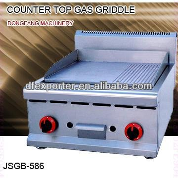 gas griddle, JSGB-586 counter top gas griddle