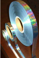 printable plastic bopp holographic film/china bopp holographic thermal lamination