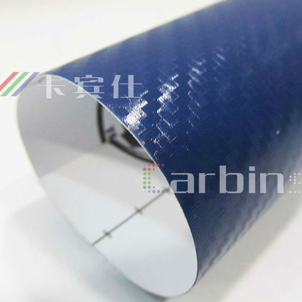 carbon fiber 3D decoration self adhesive vinyl film,car wrapping sticker
