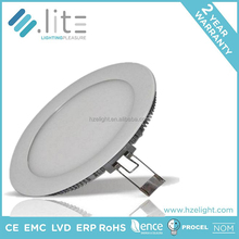 SMD2835 isolated IC driver 85-265V 3w to 18w dimmable white led suspended ceiling light panel