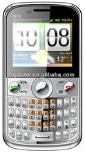 cheapest 3 sim cards mobile phone TV Q10 mobile phones.