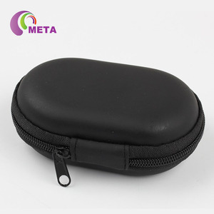 EVA Leather Protective Portable Earphone Usb Cable Organizer Earbuds Pouch box