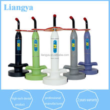 Hot sales portable dental unit cordless 5 color one working mode led curing light dental supplies