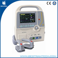 China BT-8000C Hospital medical portable automatic biphasic defibrillator, automatic external defibrillator for hospital