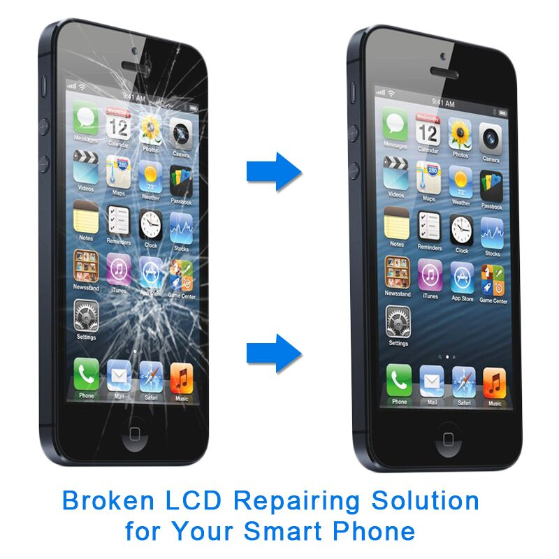Top Quality Smart Mobile Cell Phone cracked Screen LCD Repair Refurbish Machine for Phone Screen Replacement