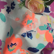 FASHION WOMAN CLOTHING COTTON VOILE HIGH DENSITY PRINTED FABRIC