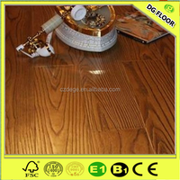 Best price AC3/AC4 waterproof walnut colors wooden laminate flooring