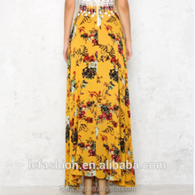 floral print hippie clothing ladies skirts