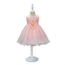 Baby Girl Princess <strong>Dress</strong> The New Sleeveless Lace <strong>Dresses</strong> for Toddler Girl <strong>Girl's</strong> Fashion Clothing Children Wedding Party <strong>Dress</strong>