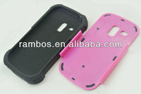 Fashion 11 Colors Protective Soft Combo Hybrid case for Samsung Galaxy s3 mini i8190