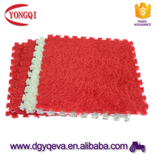 interlocking downy EVA carpet floor mats for kids protection