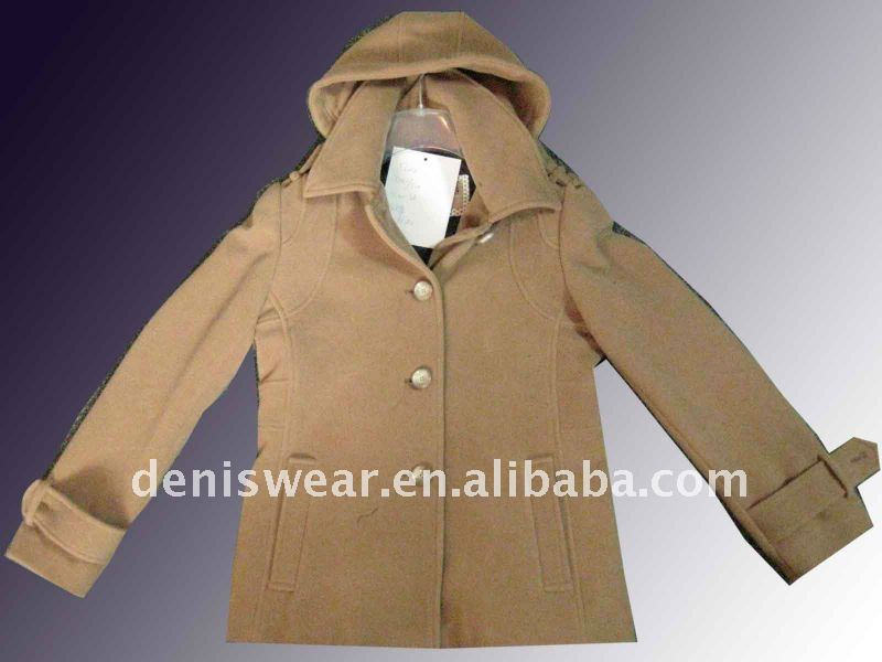 women woolen short coat