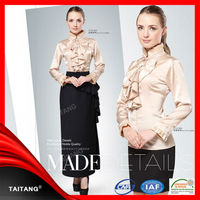 wholesale high quality stylish designs hotel female models uniforms for office