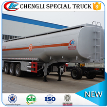 Suizhou 2 axle carton steel LPG Tanker Semi Trailer