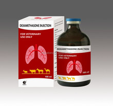 Hot sale good price GMP HBXS Veterinary injection hormone drug /animal drug dexamethasone injection 0.2%
