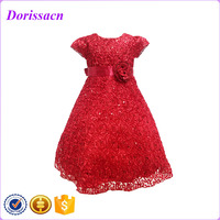 best embell sequined holiday girl dresses kids western party wear dresses patterns for 2-10 years old girls online 2016