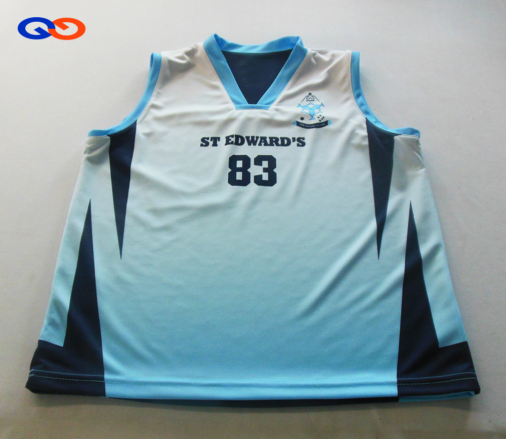 Old school new design reversible basketball jerseys