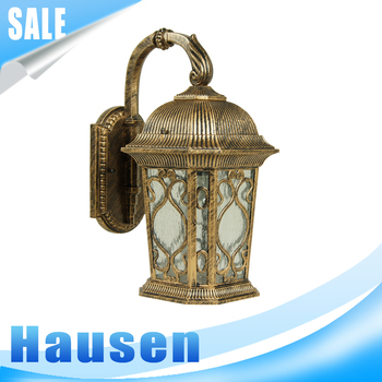 Easy assemble IP44 wall mounted wall lantern outdoor light