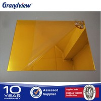 2mm oval acrylic mirror sheet decorative plastic