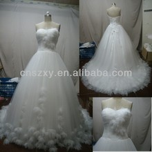Really Factory Produce Shop Recommend Sweetheart Wedding Dress Backless --- XJWD025