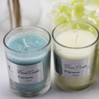 Coconut Lime Scented Soy Jar Candle