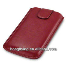 Genuine Leather Pouch case for LG Google Nexus 4