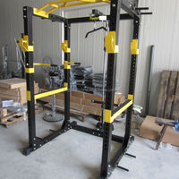 Power Cage Crossfit Squat Stand Rack