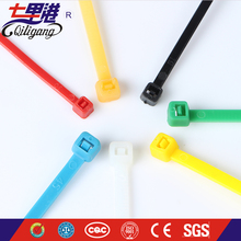 Best selling Free sample 4'' 6'' 8'' 10'' length zip tie Nylon66 plastic cable tie strap seal