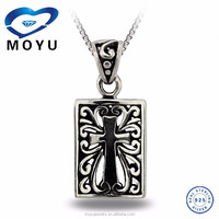New item 925 Sterling silver pendant alibaba wholesale jewelry factory price