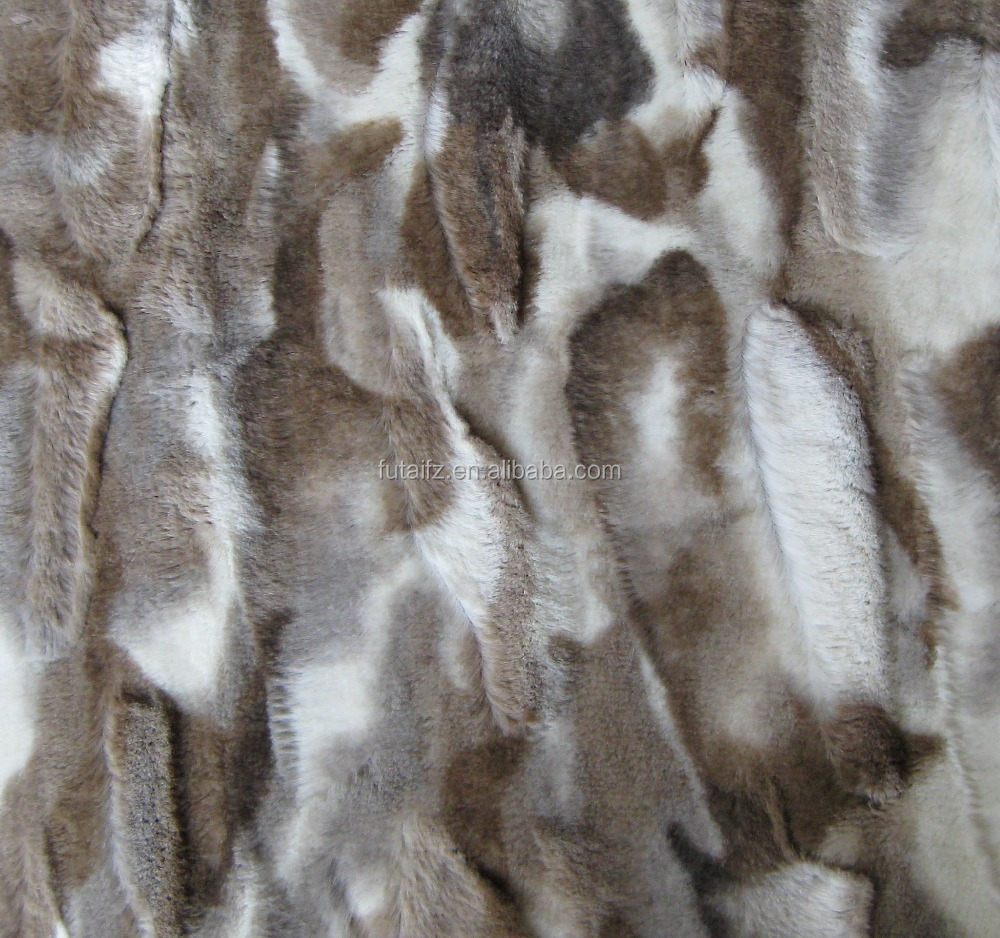 Faux fur fabrics polyester material fabrics inter textile for Cheap fabric material