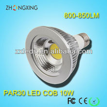 1000lm 10W COB dimmable par30 led light with 3 years warranty