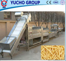 China Big Factory Good Quality Kfc Mcdonal'S Frozen French Fries Making Machine