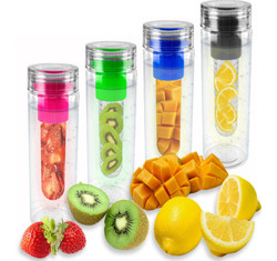 Colorful Fruit and Juice Water Bottle Joyshaker, BPA Free 750ml Water Bottles