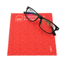 Wholesale custom sublimation blank microfiber cleaning cloth glasses