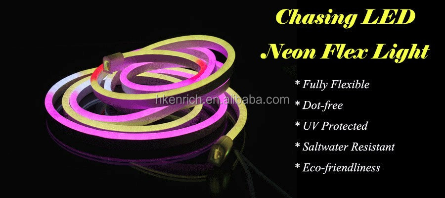 DMX CONTROLLER PVC chasing colorful SOFT led FLEXIBLE NEON