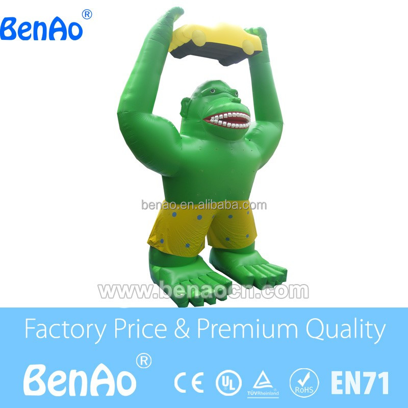 AC079 Outdoor Inflatable Ape Monster,Inflatable Gorilla,Inflatable King Kong