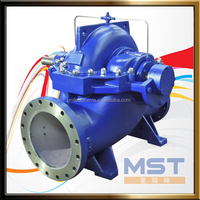 Farm irrigation manual double suction water pump