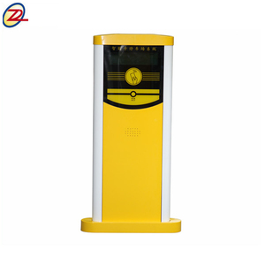 Middle distance parking ticket machine automatic car park barrier system