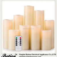 Flameless Candles Battery Operated Candles Set