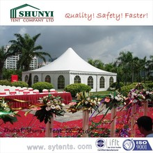 Outdoor Fresh Wedding Tent with transparent covers
