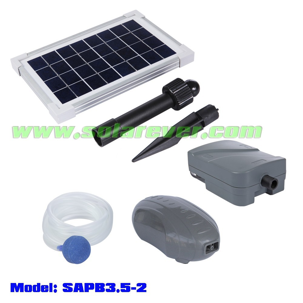 Garden solar aquarium DC brushless air pump (SAPB3.5-2)