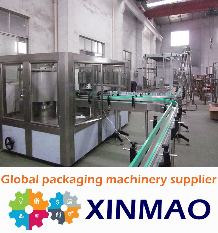 Xinmao Carbonated Soft Drink Production Line Can Filling Machine