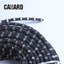 High quality products electroplated beads diamond wire saw with diamond beads