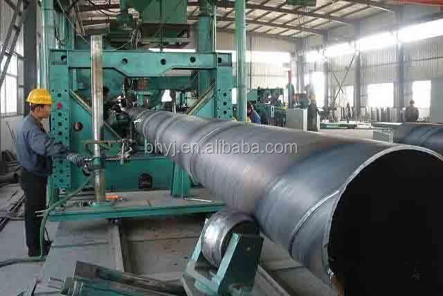 SSAW pipe production line used for convert gas and water