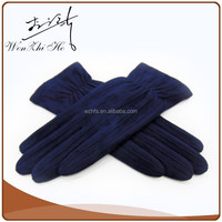 Separated Fingers Touchscreen Faux Suede Motorcycle Gloves For Men