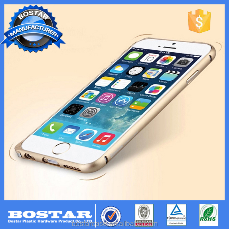 Aluminum Alloy Blade Metal Frame Bumper Case for iPhone 6